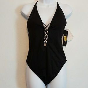 NWT La Blanca Strappy One piece Swimsuit
